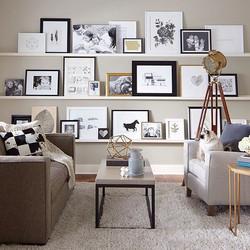 Use shelves for flexibility.