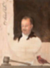 Commissioned Portrait Painting in style of Gilbert Stuart's unfinished portrait of George Washington