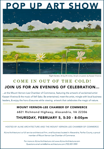 Graphic Design of exhibition announcement by Kazaan Viveiros