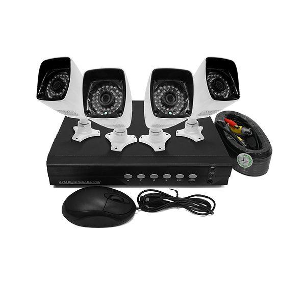 AHD CCTV 4 Channel kit