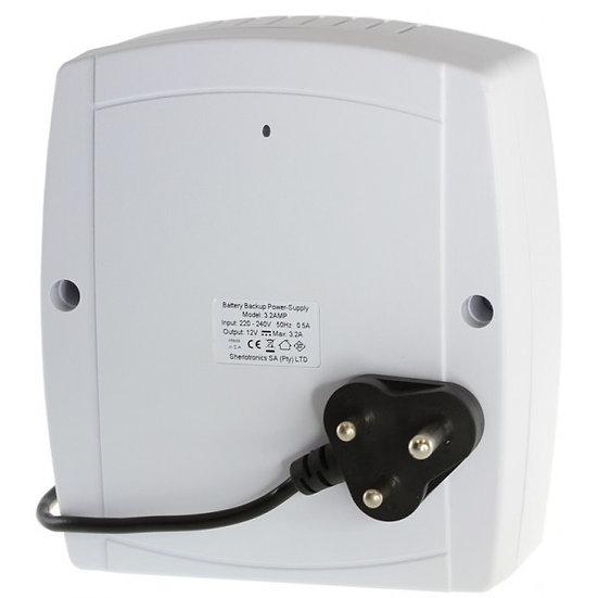 Back-up Power Supply: 3.2AMP