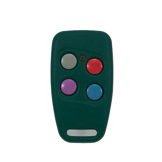 Remote Sentry blue green 4 button