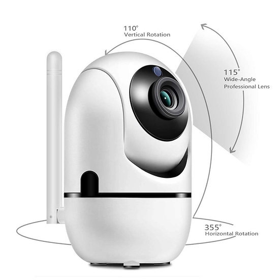 Wifi Auto Tracking Network Camera Indoor