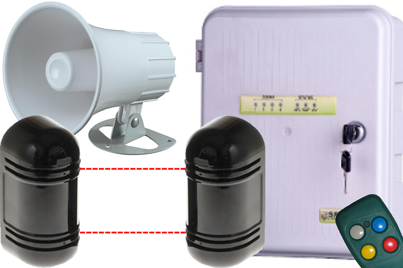 DIY 4 Zone alarm system & Remote