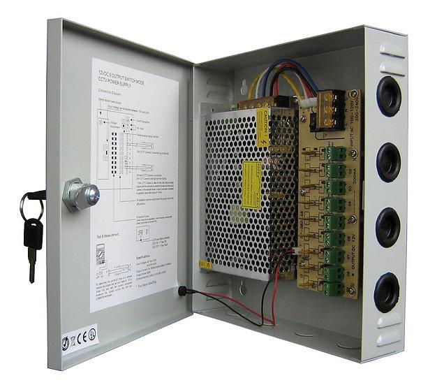 Power Supply box for CCTV Cameras 10A