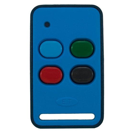 Remote ET 433 transmitter blue
