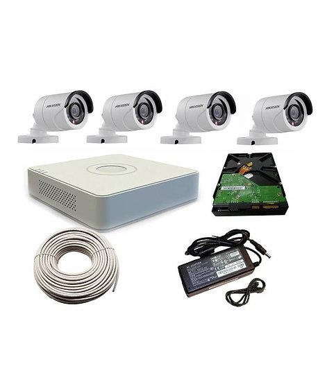 Hikvision 1080p 4 channel kit