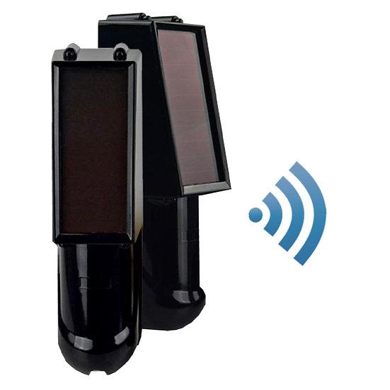 Wireless Solar Panel IR beams 100 Meter