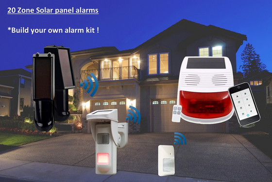 Wireless Solar Powered Alarms