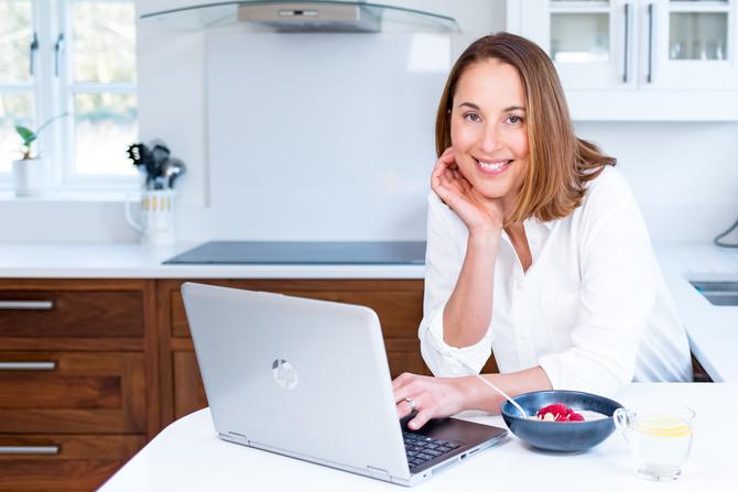 Energise With Emily - Photoshoot Website Hertfordshire