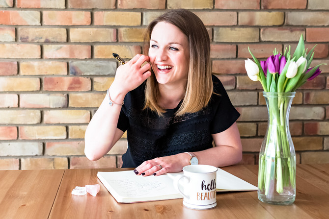 Katie Hill : Relaxation & Self-Care for the Soul– Personal Branding Session Ware Hertfordshire