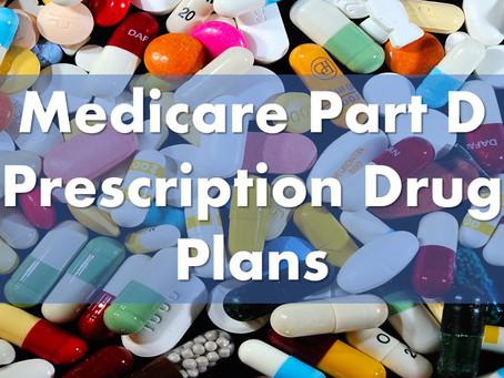 Medicare 2021 Annual Enrollment Period - Part D Drug Plans