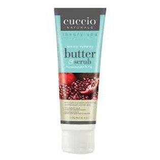 Cuccio Butter & Scrub - Pomegranate & Fig