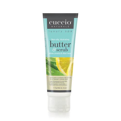 Cuccio Butter & Scrub - White Limonetta & Aloe Vera