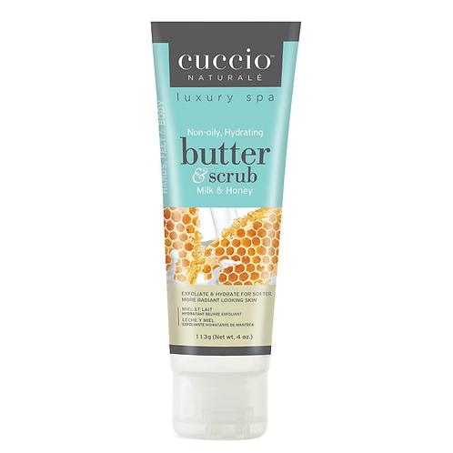 Cuccio Butter & Scrub - Milk & Honey