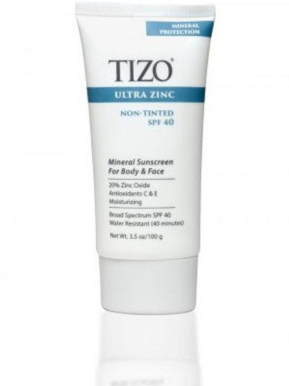 TIZO Ultra-Zinc SPF 40 Non-Tinted