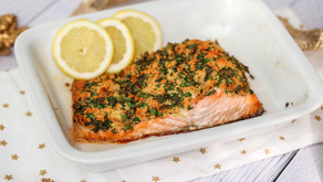 SALMON FILLET WITH CRUNCHY HERB TOPPING