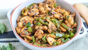 Garlic Mushroom & Chicken Stir-Fry
