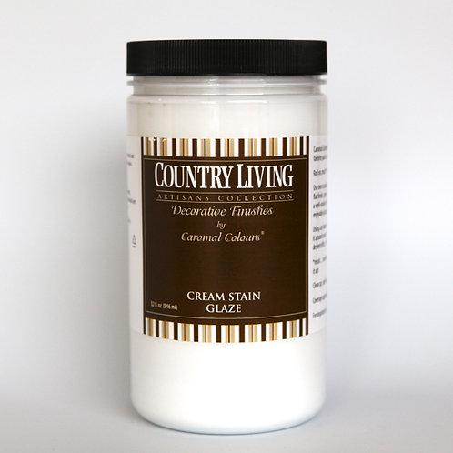 Wall Stain Glazing: Cream - 1 Quart