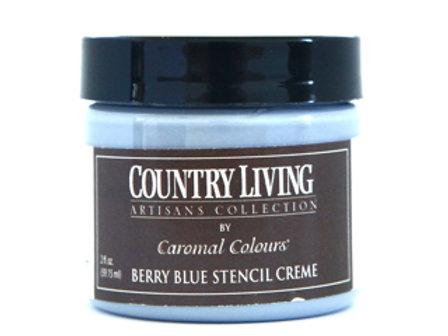 Berry Blue Stencil Creme
