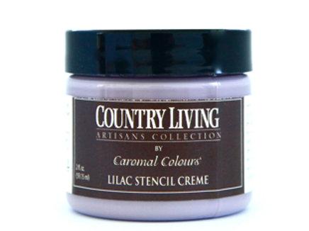 Lilac Stencil Creme