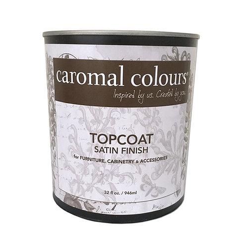 Caromal Colours Topcoat Satin Finish - 1 Quart