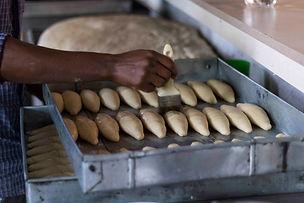 Fresh bread made in Huye