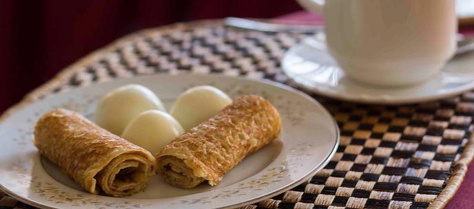 Light House Hotel breakfast in Huye