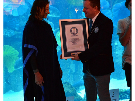 Mermaids of Arabia Breaks the Guinness World Record!