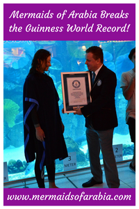 Mariana Kazankova receives a certificate for breaking the Guinness World Record