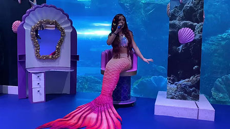 Check out our magical singing mermaid!