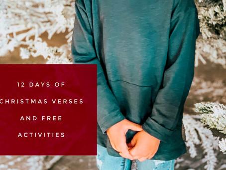 12 Days of Christmas Verses