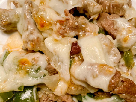 Low Carb Philly Cheese Steak