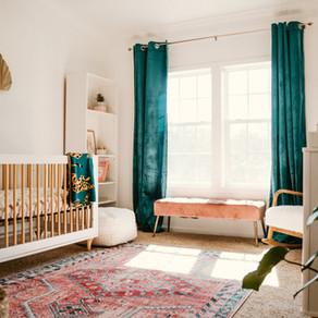 Luxe Nursery Reveal