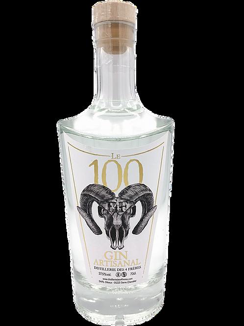 GIN LE 100 - Distillerie des 4 Frères - 70cL