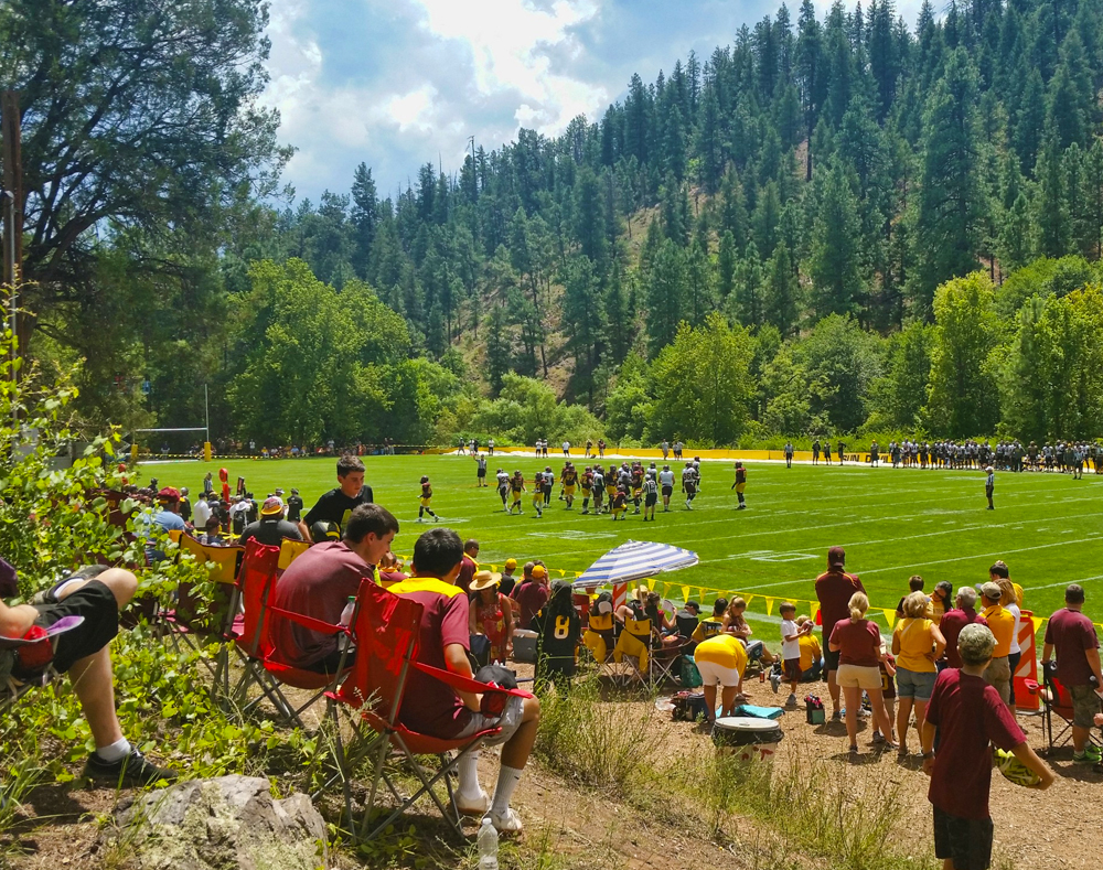 Camp Tontozona ASU Football