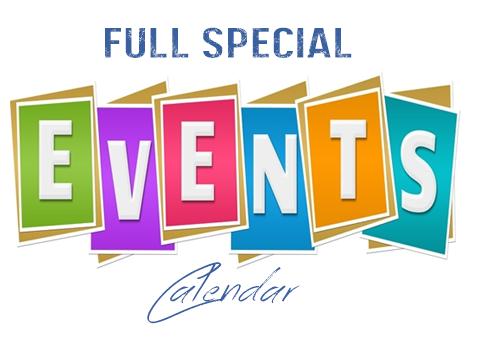 Special Event Calendar