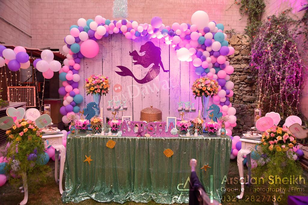 Mermaid theme Bridal Shower