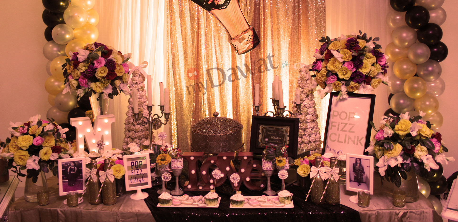 Champagne Theme Bridal Shower
