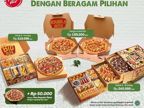 PROMO Pizza Hut Mei 2020, Cuma Rp 50 Ribu Bisa Dapat Pan Reguler Pizza