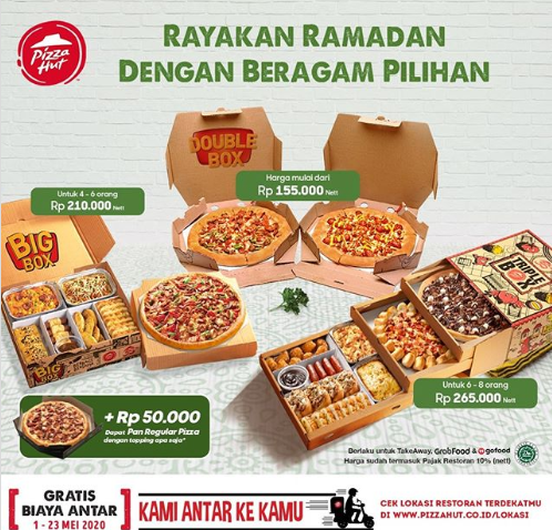 PROMO Pizza Hut Mei 2020