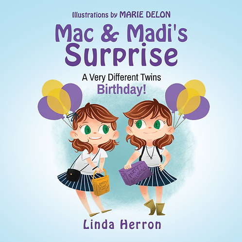 Twins Mac &  Madi - Hardcovers and Coloring & Activity Bundle
