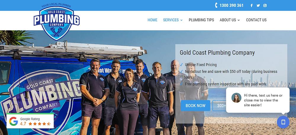 best plumbing websites australia, website designers australia plumbing