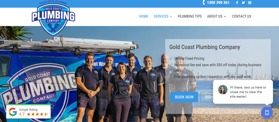 Our Team Reviews Top Australian Plumbing Websites
