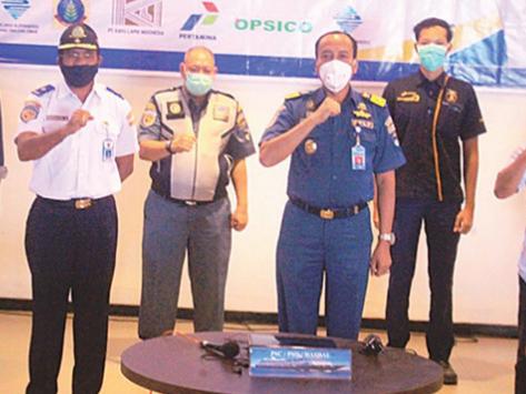 Latihan Pengamanan Pelabuhan Digelar secara Virtual