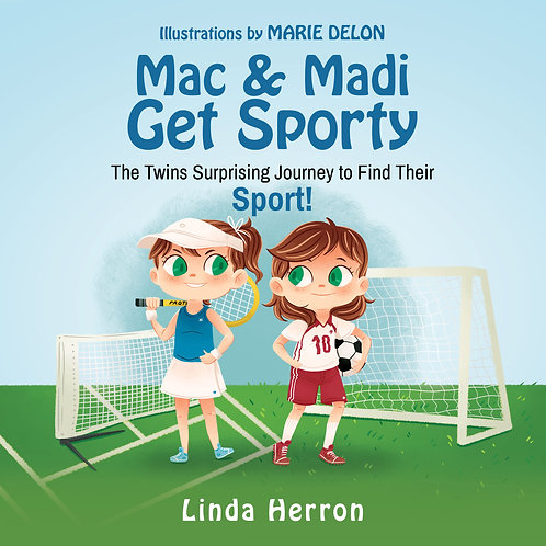 Twins Mac & Madi Get Sporty