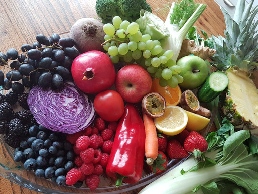 How to eat a RAINBOW - and the importance of a colourful diet