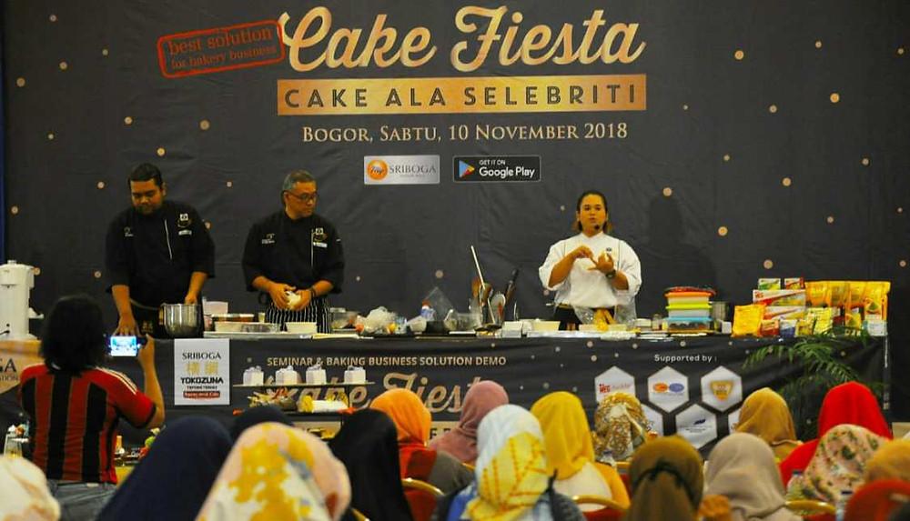 cerebriti cake event at bogor city