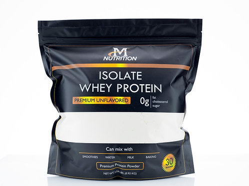 Isolate Whey Protein - Premium Unflavored
