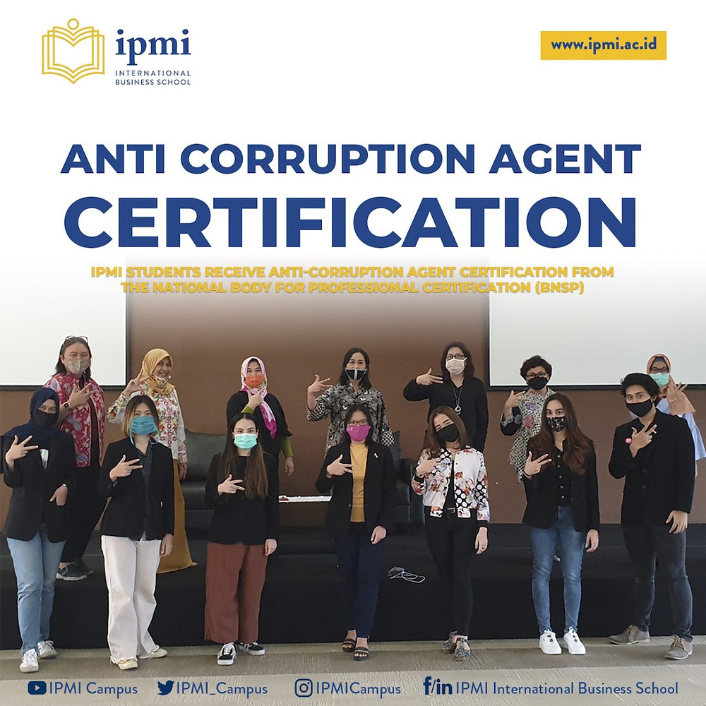 Anti Corruption Agent Certification